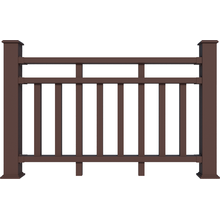 High quality anti-uv WPC Railing