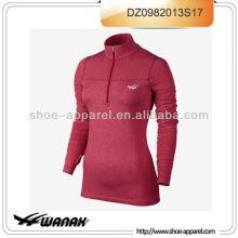 Wholesale dri-fit red women running wear top 2013 OEM