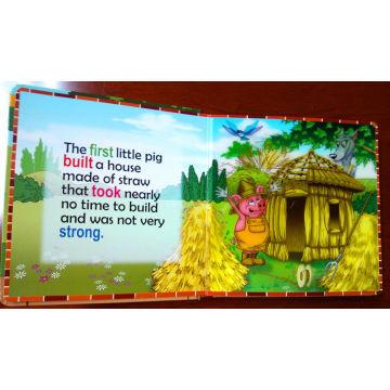 Impresión de libros profesionales para niños en 3D