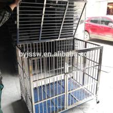 BAIYI Stainlessl Steel Chien Cage et Chien Caisse à vendre