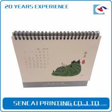 Best price customized factory supply triangle rectangle desk calendar