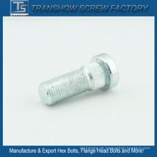 M14X60mm elektrischer galvanisierter Stahlrunder Kopf-Verschlussbolzen
