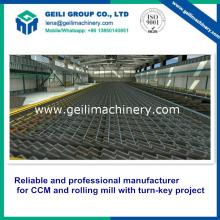Cama de enfriamiento para planta laminadora de acero