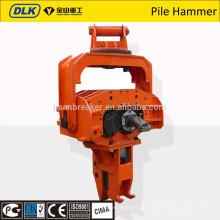 conducteur de palplanche Vibro hammer pour excavatrice en 12-50T