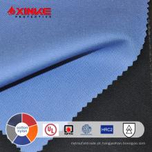 Alto desempenho 88/12 algodão / nylon tecido retardante de chamas para vestuário de trabalho