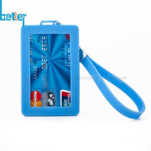 Kundenspezifischer Silikon-Kreditkarteninhaber