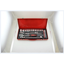 22PC 1/2 in. Drive Metric Socket Set High Quality