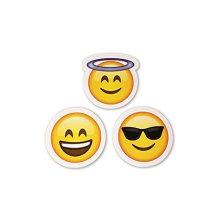 Emoji Stickers Same Happy Faces Kids Aufkleber von iPhone Facebook Twitter Emoticon Stickers Sortiment Pack