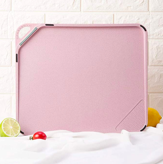 plastic cutting board with hanger