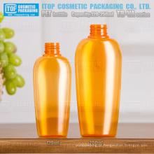 TB-VA série 120ml e 250ml lindo pescoço universal colorido tamanho alta qualidade devenda oval do animal de estimação do sopro do frasco