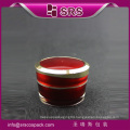 SRS skincare plastic cosmetic acrylic container hot sales empty jar for face cream