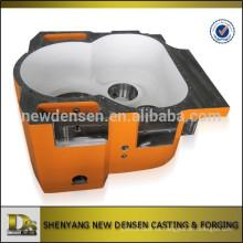 Caja de la caja de engranajes de la arena de acero de la aleación del OEM para la impulsión superior