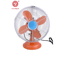 Luxurious Electric Metal Table Fan for Industrial with Strong Wind