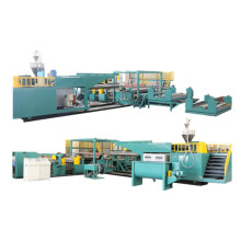 Non-woven&paper& PE film lamination production line
