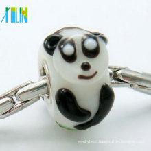 tiny murano rabbit glass beads for bracelet accessories