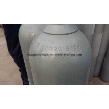 99.999% Cylindre de remplissage de gaz N2o avec soupape