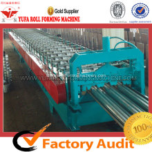 High-end Floor Deck Forming Machine Untuk Bangunan Baja Struktural