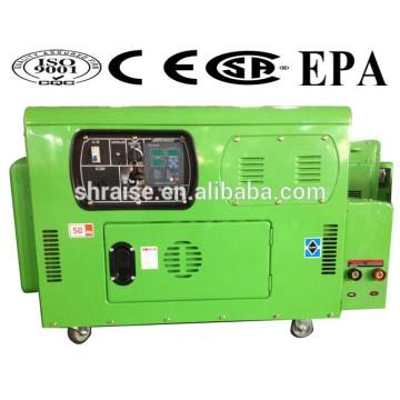 Портативный сварочный генератор RZ12000LDEW с военным стандартом качества!