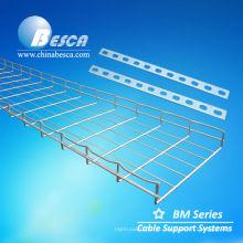Bandejas de cabo de aço inoxidável / de alumínio da rede de arame