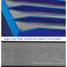 Tragrahmen verstärkte Filterpartikel Johnson Screen Panel