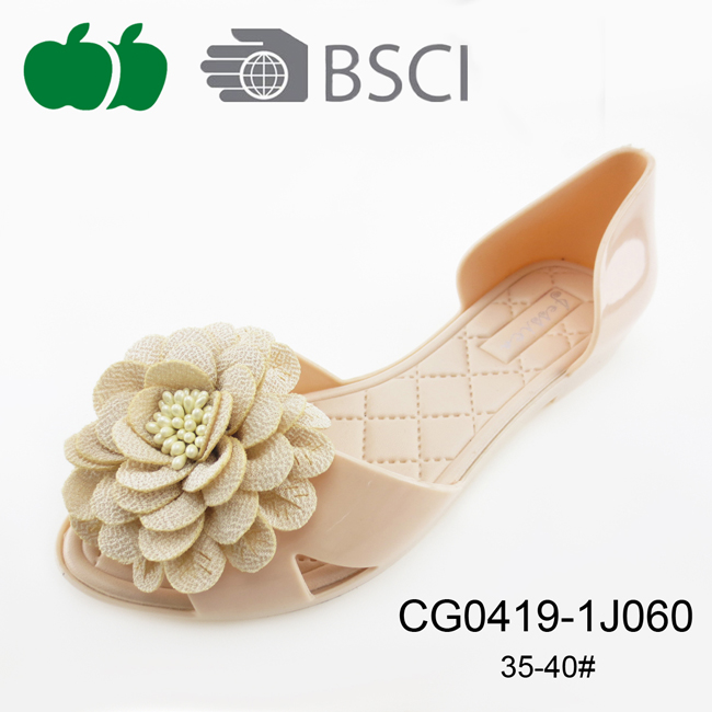 flower jelly shoes sandals