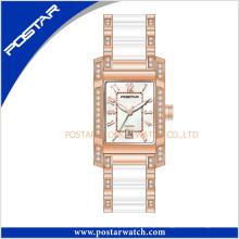 Novo design de estilo Ceramic Watch for Ladies