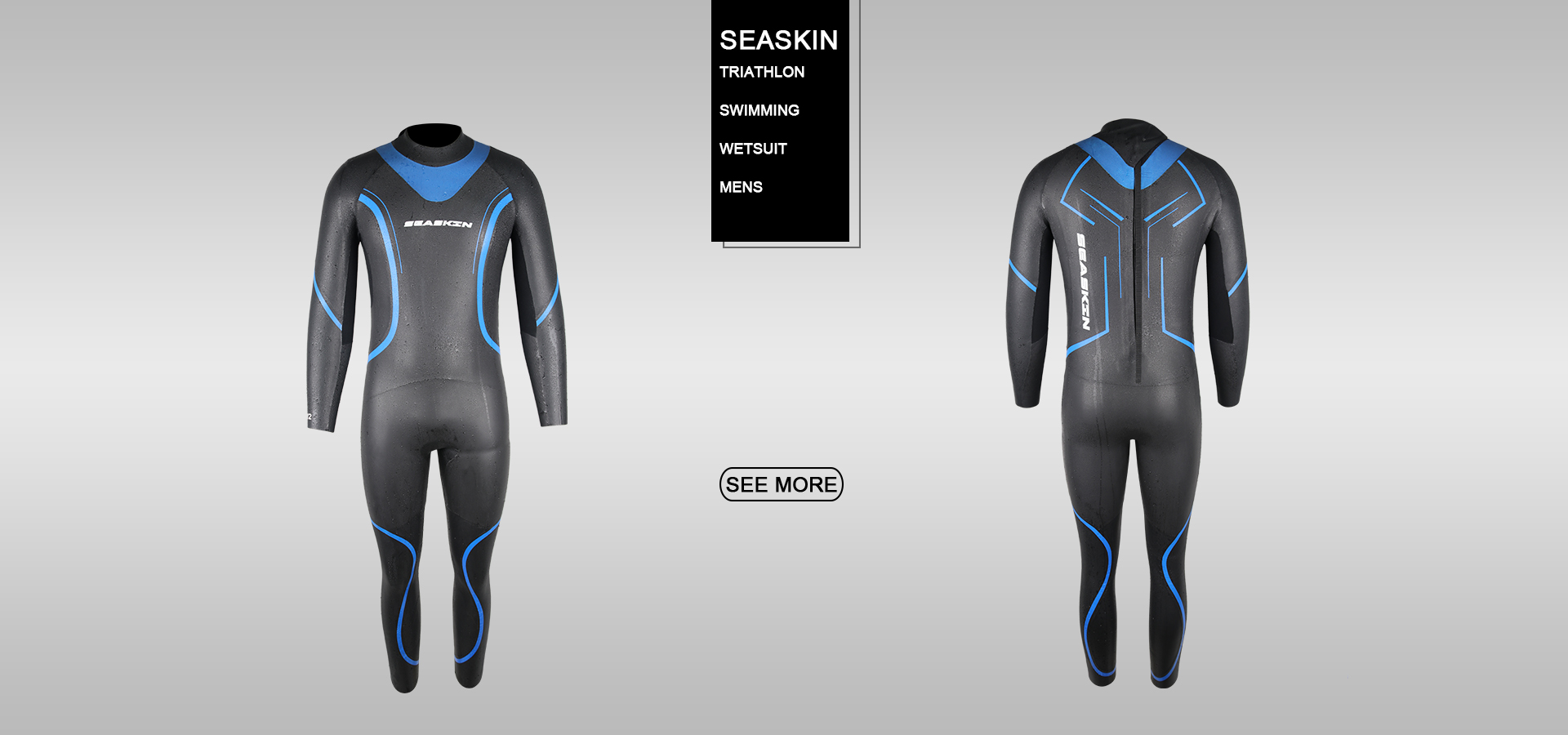 Seaskin mens triathlon wetsuits
