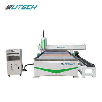 Cylindrical+products+processing+CNC+router+1530+with+rotary