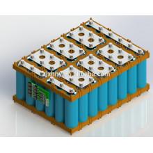 Batterie au lithium 48V30AH pour la puissance de la moto électrique