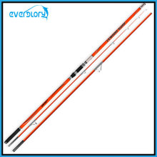 3 Abschnitt Orange Farbe Surf Rod Angelgerät