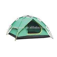 Barracas impermeáveis exteriores da dupla camada da barraca de acampamento 3-4 da pessoa
