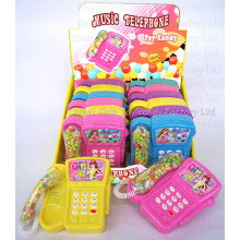 Musical Telephone Toy Candy (110613)
