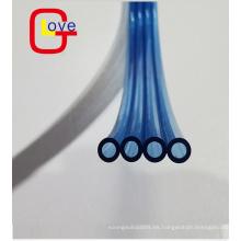 Tubo de manguera de aire neumático transparente transparente de la manguera de la PU
