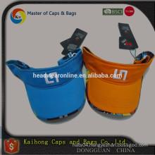 OEM fashion high quality sports custom cheap cotton sun visor