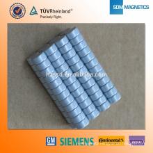 N35 Zinc Neodymium small round magnet for Bag