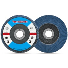 Professional Factory 100mmt27 Stainless Steel Zirconia Abrasive Flap Disc for Metal Grinding Competitive Price