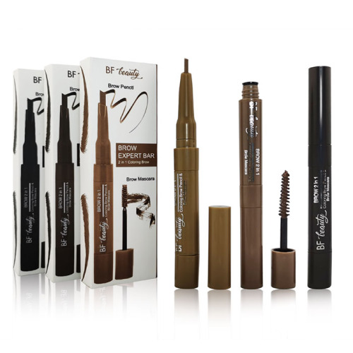 Brow 2 in1 3D Mascara en barra reutilizable para cejas