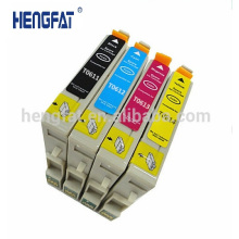 0611 Compatible Ink Cartridge T0611 T0612 T0613 T0614 with Chips for Printer Eepson D68 DX4800