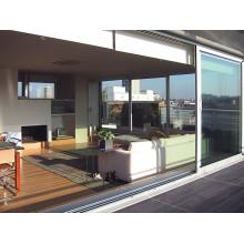 Moderno Multi-Tracks empilhando janelas de alumínio e portas Preços