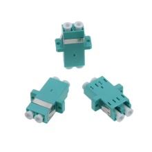 Adaptador de fibra óptica LC dúplex