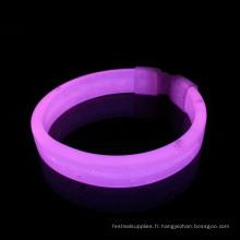 Bracelet lumineux rougeoyant