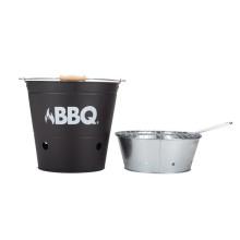BigBuy BBQ Charcoal Bucket Barbecue