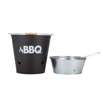 Barbacoa BigBuy BBQ Charcoal Bucket Barbecue