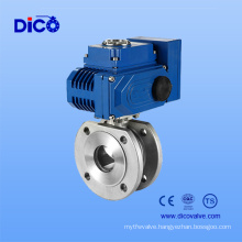 Ce Electric Stainless Steel Wafer Ball Valve (Q971F-16P)