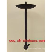 Black Good Quality Wholesale Aluminum Nargile Smoking Pipe Shisha Hookah