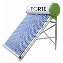 Chauffe-eau solaire non-pressurisé d'acier inoxydable