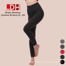 Collants double épaississement modèle corps chaud Caleçon en cachemire femme leggings