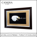CANOSA shell hand engarving 3D eagle hoofd muur fotolijst