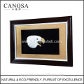 CANOSA shell hand engarving 3D eagle head Wall Picture frame