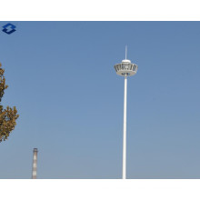Octagonal de 25m galvanizado eléctrico de alta iluminación del mástil poste de acero